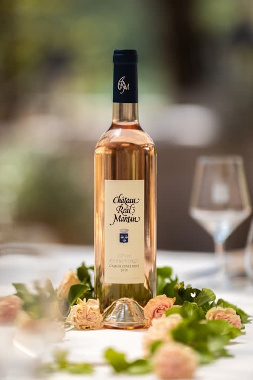 grande cuvée chateau réal martin rosé